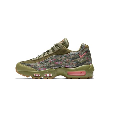 40e38bfa59 Nike - Womens Nike Air Max 95 Floral Camo Neutral Olive Arctic Punch ...