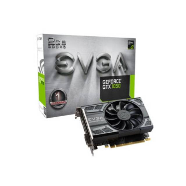 EVGA NVIDIA GeForce GTX 1050 GAMING 2GB GDDR5 DVI/HDMI/Di...