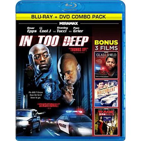 Heat On The Street: In Too Deep / The Glass Shield / Malevolent / A Rage In Harlem (Blu-ray) (Widescreen)