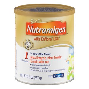 Nutramigen with Enflora LGG Hypoallergenic Infant Formula Powder 12.6 oz. Canister