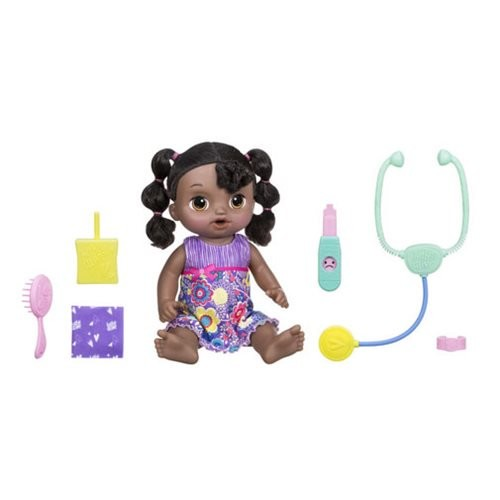 Baby Alive Sweet Tears Baby African American Doll (Number of Pieces per Case: 2) by
