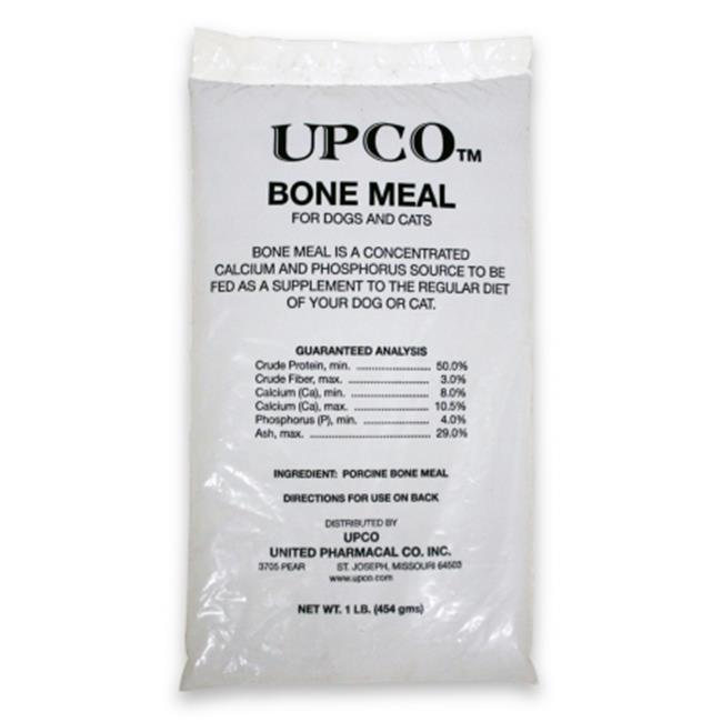UPCO 015UPC01-1 Steamed Bone Meal  1 lb Bag