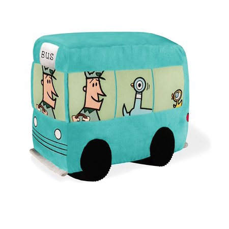 Don't Let The Pigeon Drive the Bus - Bus Soft Toy 10.5 by, 10.5 Bus Plush from Mo Willems Don't Let the Pigeon Drive the Bus Theme By YOTTOY Ship from US