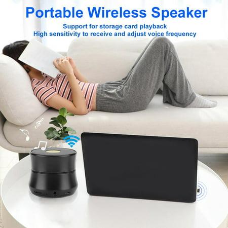 Ccdes Bluetooth Speaker,Loudspeaker Box,U1 Zinc Alloy Plug Card Reception Multiple Compatibility Modes Portable Outdoor Home Wireless Bluetooth Speaker - image 2 of 7