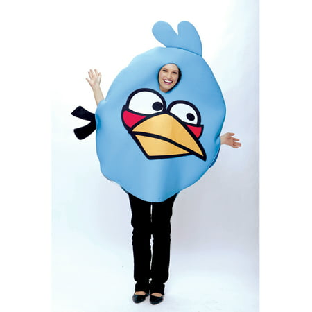 Adult Angry Birds Blue  Bird Costume by Paper Magic Group 6769770 (Bird Costume For Adults)
