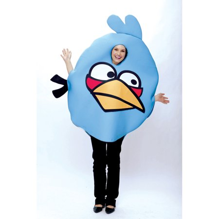 Adult Angry Birds Blue  Bird Costume by Paper Magic Group 6769770 (Funniest Group Costumes)
