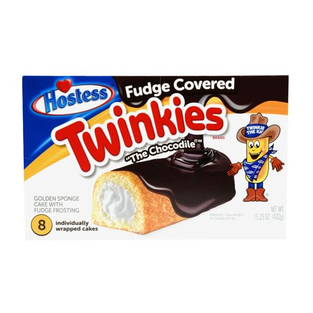 Hostess Fudge Covered Twinkies Multi-Pack 15.23 ounces 8 count
