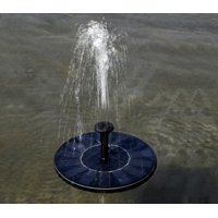 Solar Power Bird Bath Fountain,Solar Panel Water Floating Fountain Pump Kit for Bird Bath,Fish Tank,Small Pond,Garden Decoration
