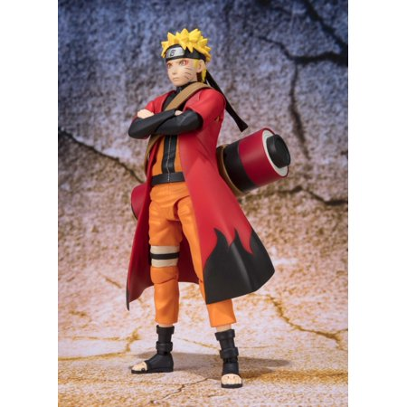 S.H. Figuarts Naruto Naruto Uzumaki Sage Mode Advanced ver Action Figure