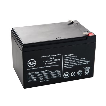 Schwinn S750 - 2005-Older Models 12V 14Ah Scooter Battery - This is an AJC Brand Replacement