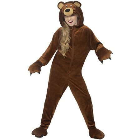Brown Bear Child Costume](Kid Bear Costume)