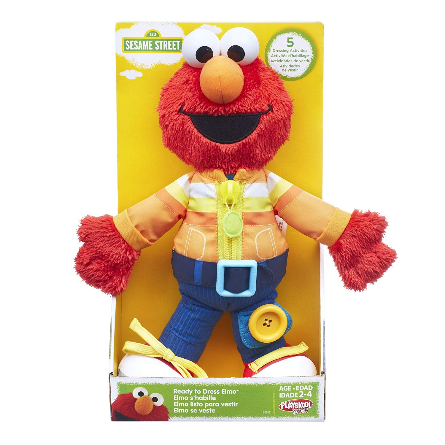 Playskool Sesame Street Ready to Dress Elmo - Walmart.com