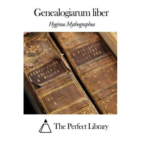 Genealogiarum Liber  Latin