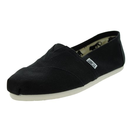 TOMS Shoes Classics Casual Shoes (Black Canvas)