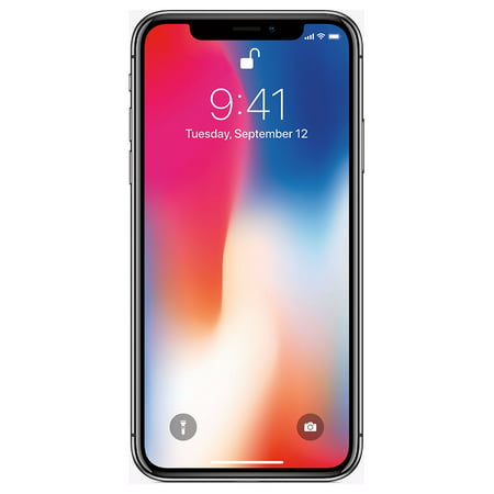 Apple iPhone X 64GB Unlocked GSM Phone w/ Dual 12MP Camera - Space Gray