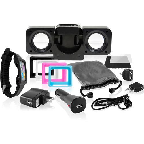 Accessory Kit For Ipod Nano 6th Generati