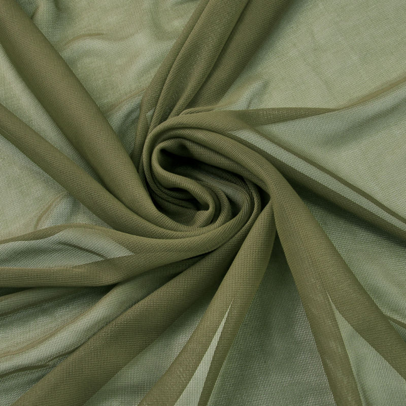 "10 yards 120"" Wide Sheer Voile Chiffon Fabric By Yard Draping Panel Wedding"", (Color: Olive)"