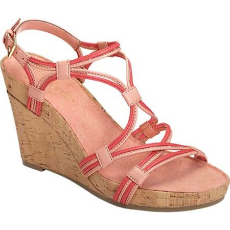 6e64c0975d8 Aerosoles - Women s Aerosoles Real Plush Wedge Sandal - Walmart.com