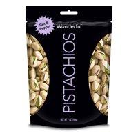Wonderful Pistachios, Salt & Pepper Flavor, 7 Ounce Resealable Pouch