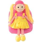 Kreative Kids 8255 Blonde Doll Stuffie Plush Backpack