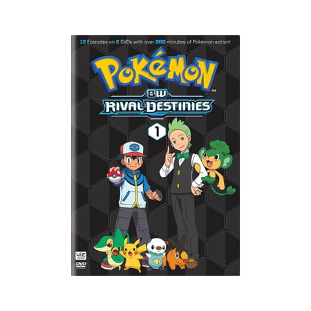 Pokemon Black & White Rival Destinies: Set 1 (DVD) - Old Black And White Halloween Movies