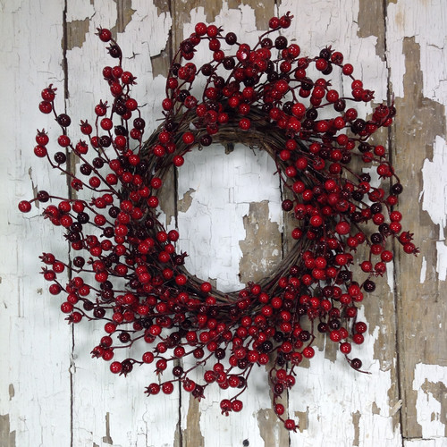 Mills Floral Company 18'' Multiberry Wreath