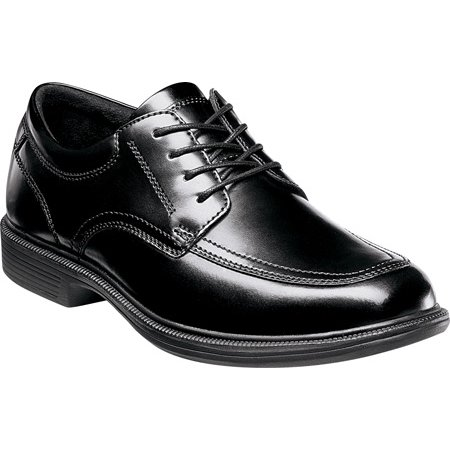 Nunn Bush Lace Oxfords - nunn bush men's bourbon st lace-up oxford,black,10 w us