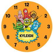 Personalized Yo Gabba Gabba! Hello Friends Wall Clock