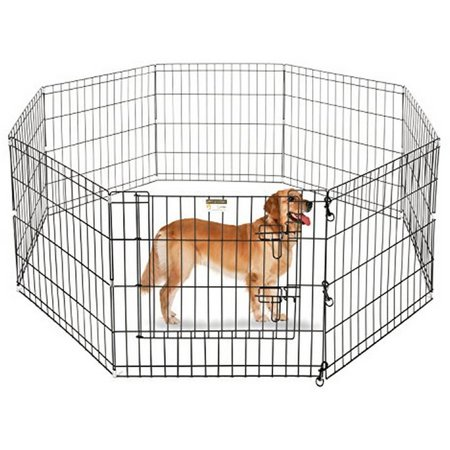Aleko SDK-24B Dog Playpen Crate Fence