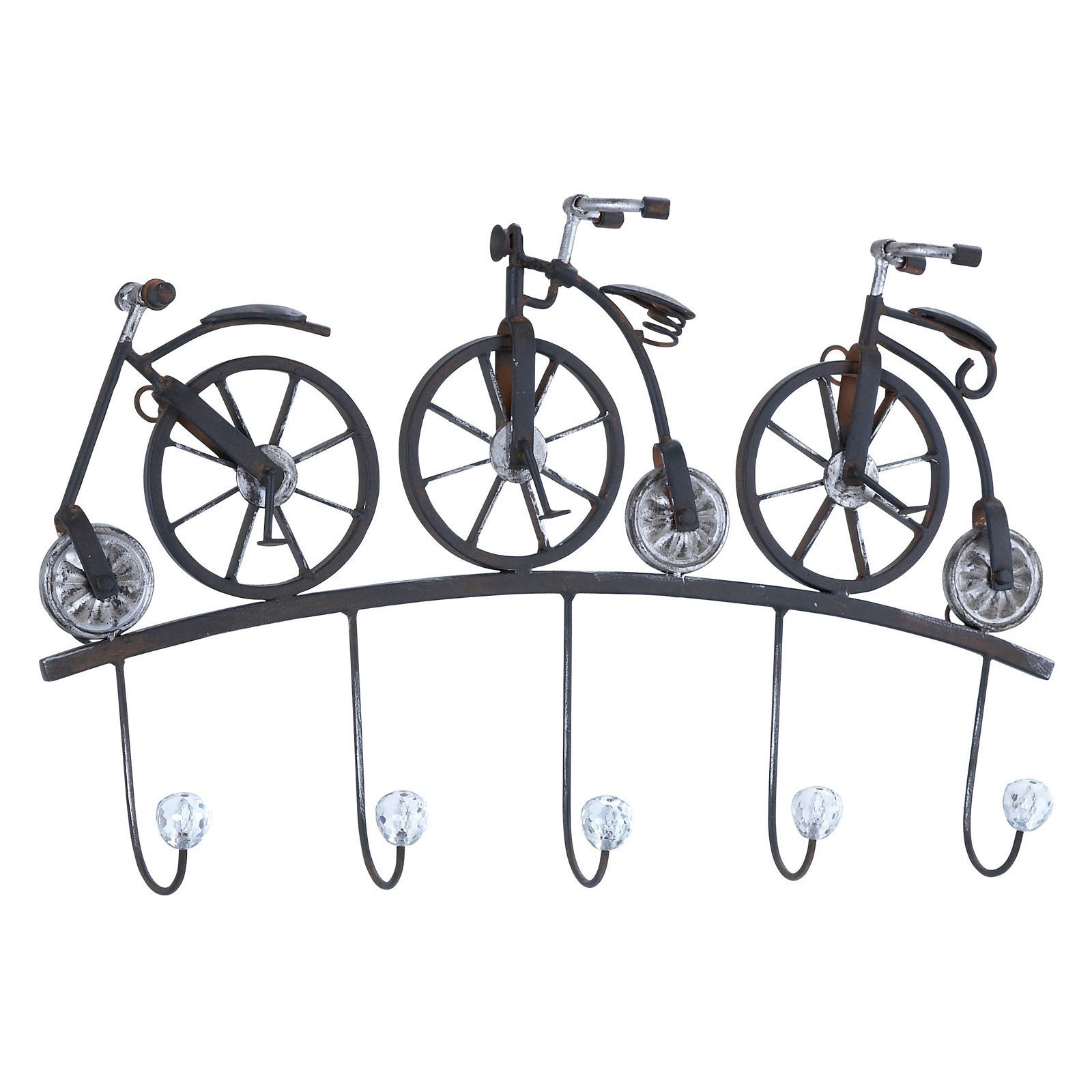 Woodland Imports Decorative Metal Bicycle Wall Sculpture