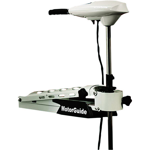 "MotorGuide Trolling Motors, Saltwater Great White Edition (Hand/Transom 105 lb. 50"" Shaft)"