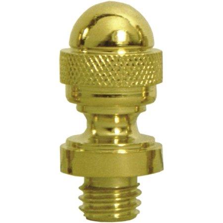 Deltana CAT1 Solid Brass Decorative Acorn Tip Hinge Finials
