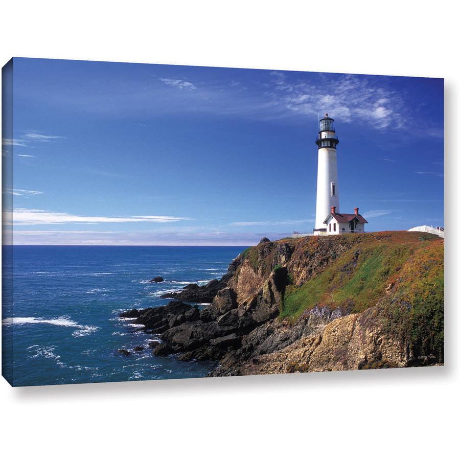"Kathy Yates ""Pigeon Point Lighthouse"" Canvas Art"