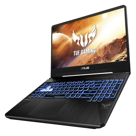"ASUS TUF 15.6""Full HD Gaming Laptop, AMD Ryzen 7 R7-3750H, GeForce GTX 1660 Ti, 8GB DDR4, 256GB PCIe SSD, Windows 10 Home, Black, FX505DU-WB72"