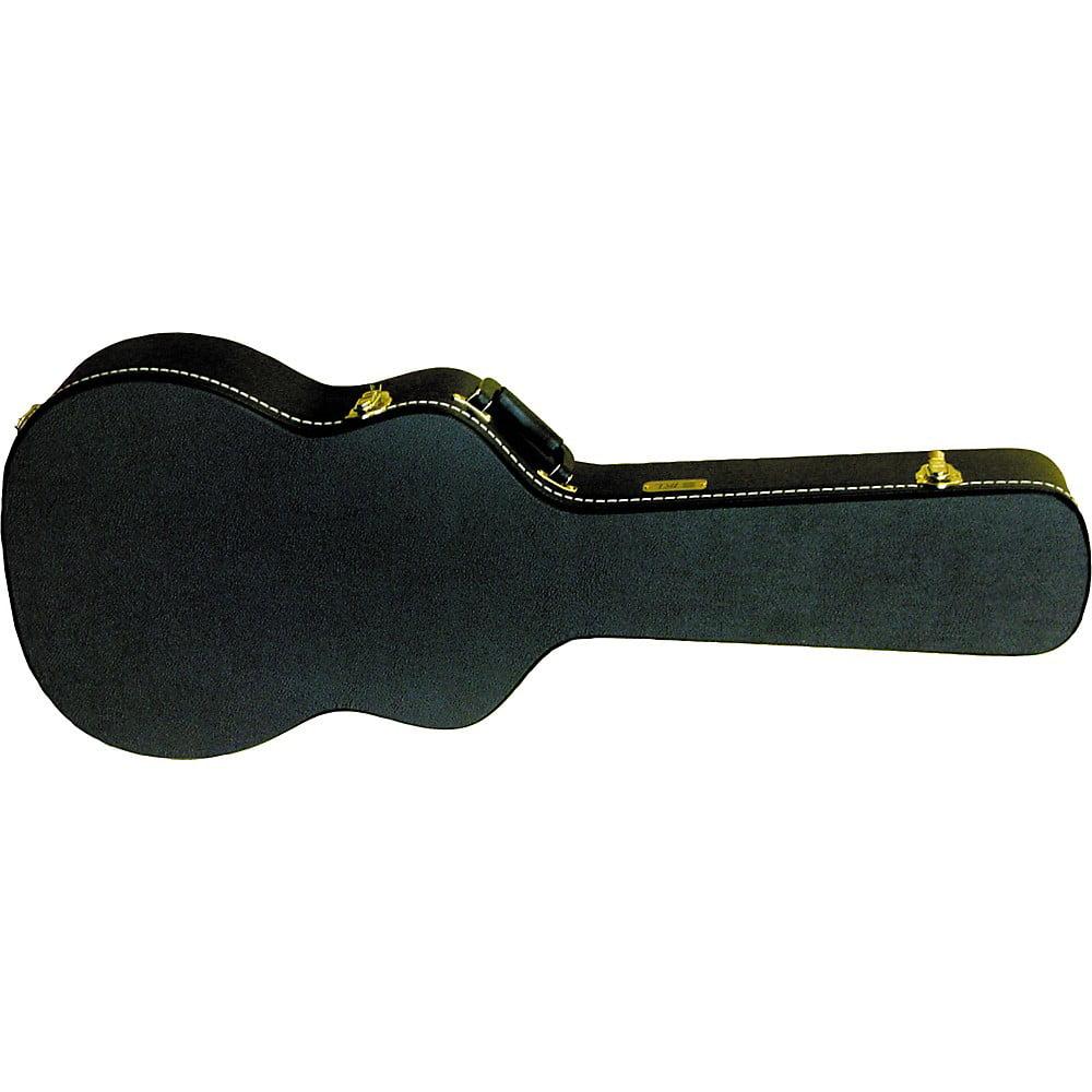 Gold Tone Beard Resonator Hard Case  Square Neck