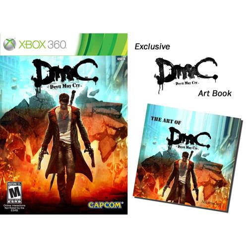 DmC: Devil May Cry w/ Wal-Mart Exclusive DMC Art Book (Xbox 360)