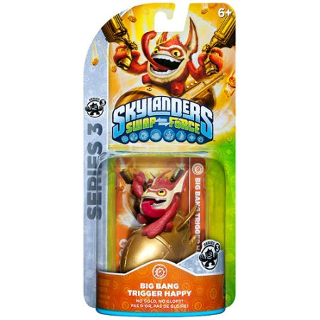 Skylanders Series 3 Trigger Happy Figure Pack [Big Bang]