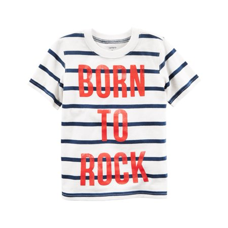 Borg Outfit (Carters Baby Clothing Outfit Boys Born To Rock Graphic Tee T-shirt)