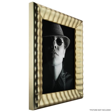 Craig Frames Cascades Vintage Aged Silver Picture Frame 24 X 36