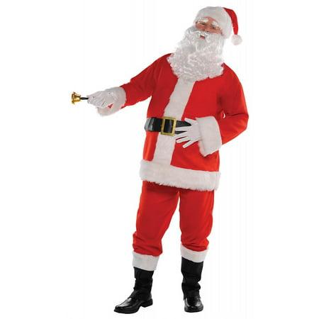 Classic Santa Suit Adult Costume - XXX-Large (Xxx Large Costume)