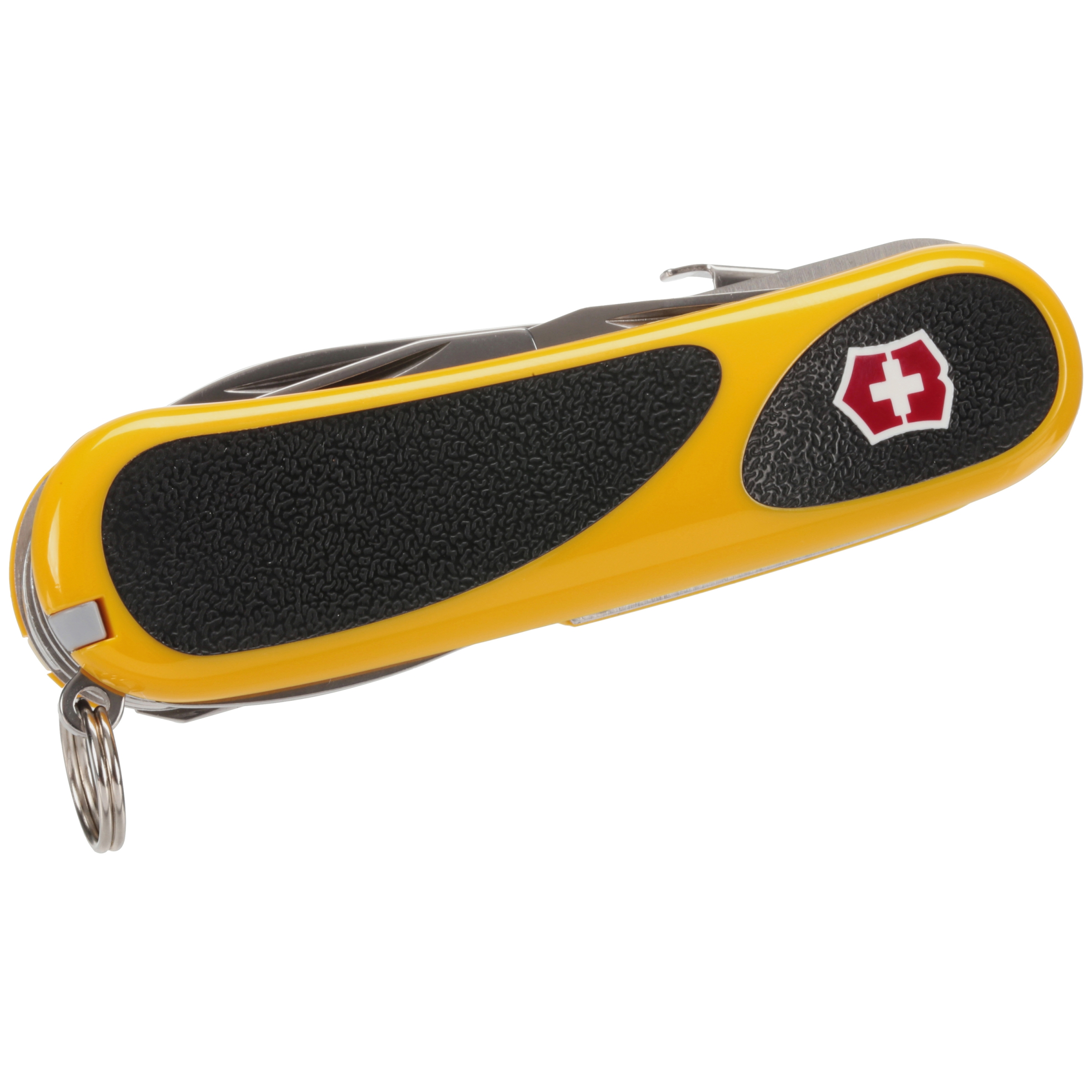 Victorinox Swiss Army Yellow/Black EvoGripS18 Knife
