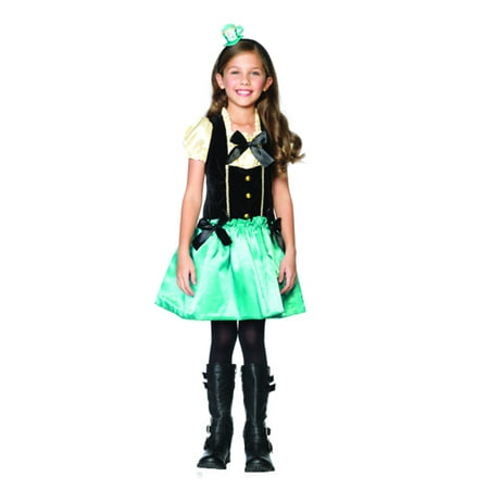Tea Party Princess Mad Hatter Kids Costume size XS 3-4