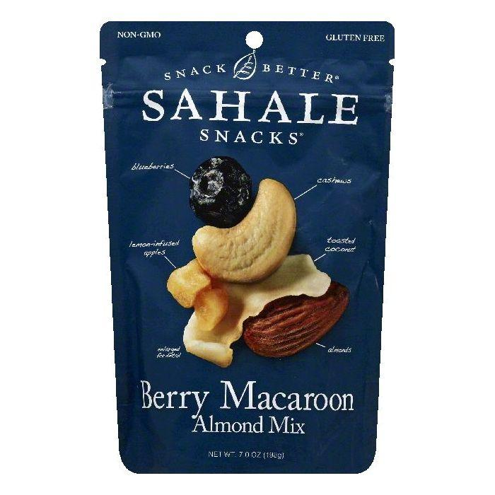 Sahale Berry Macaroon Almond Mix, 7 OZ (Pack of 4)