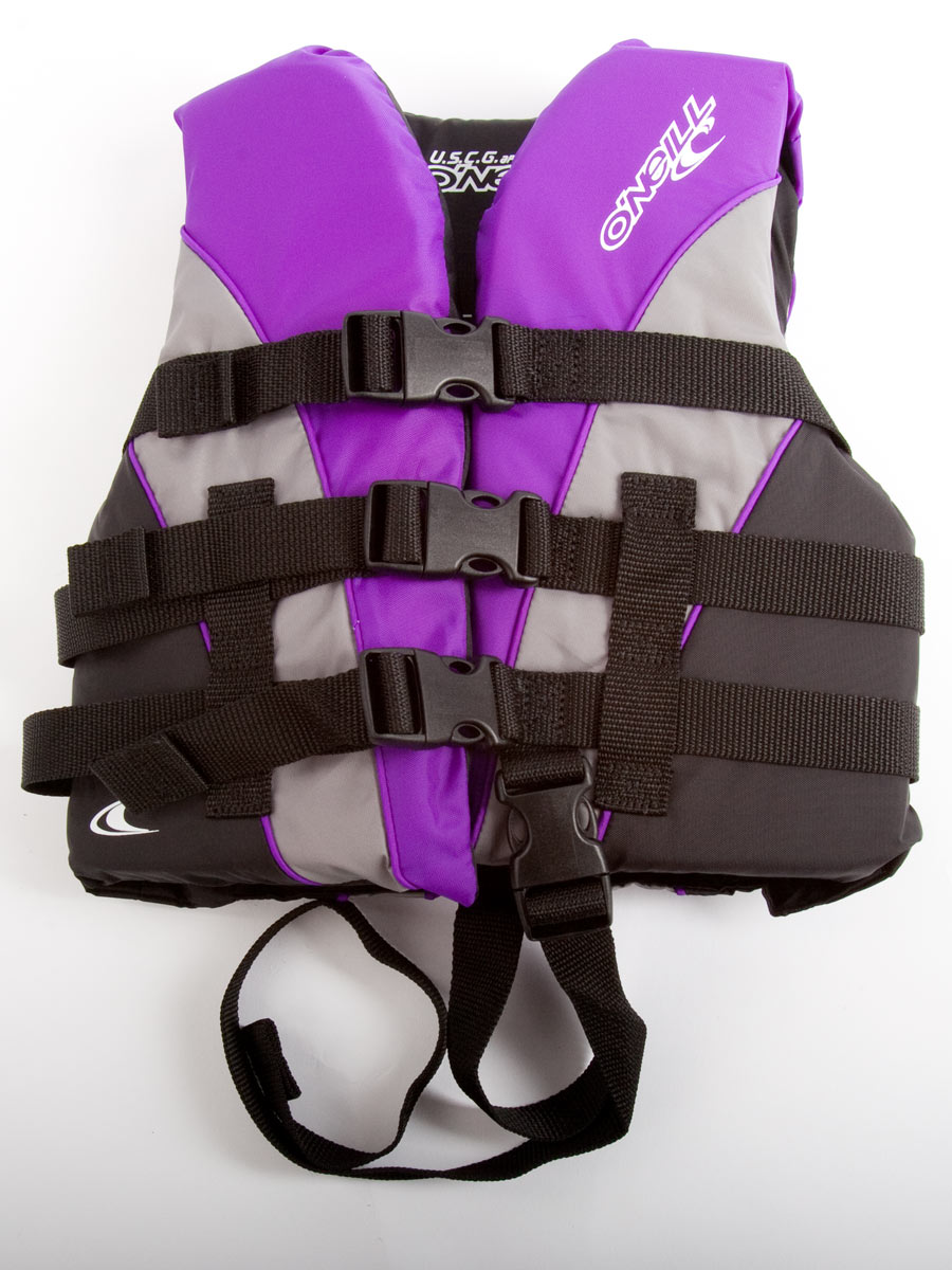 O'Neill Nylon Child Life Vest USCG Lifejacket for kids & Children 30-50 lbs by O'Neill Wetsuits