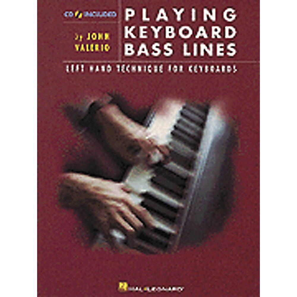 Hal Leonard Playing Keyboard Bass Lines Left-Hand Technique for Keyboards Book CD by Hal Leonard