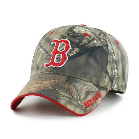 Fan Favorite MLB Mossy Oak Adjustable Hat, Boston Red Sox