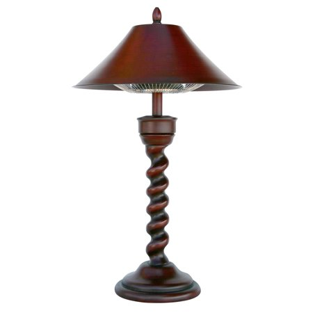 New Orleans Table lamp Electric Heater, 1200 watt - New Orleans Electric Heater