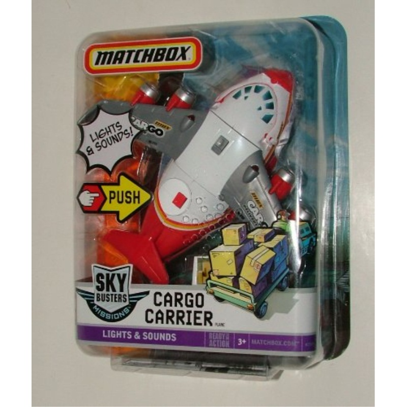 Matchbox Sky Busters Cargo Carrier by
