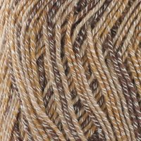 Super Fine Weight Soft and Slim Yarn Color 989 Mocha - BambooMN - 2 Skeins