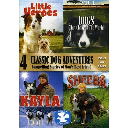 4 Classic Dog Adventures 2 Pack